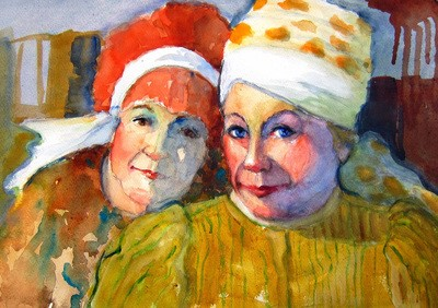"""""""BFF: Best Friends Forever"""" by Suzanne Wolfe was the winner of the SCWS Past Presidents award."""