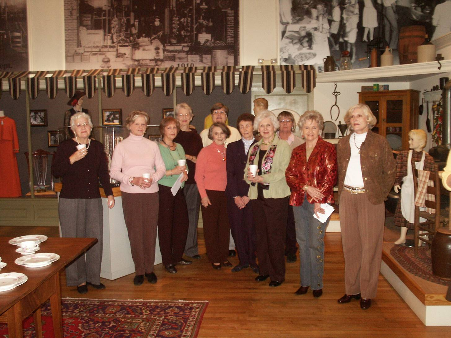 A Magnolia Club meeting.