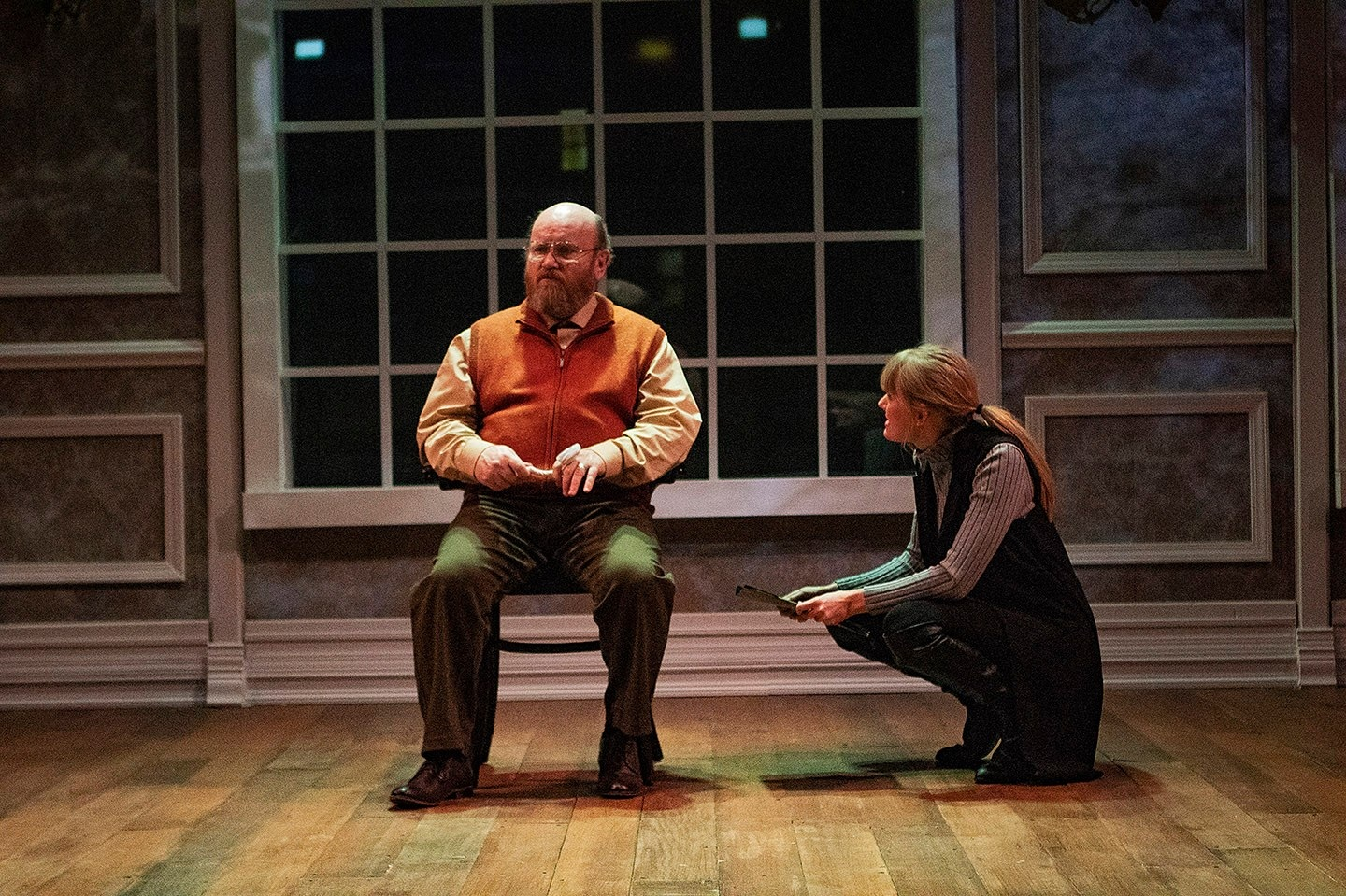 Morris in  The Nether  at Dobama Theatre