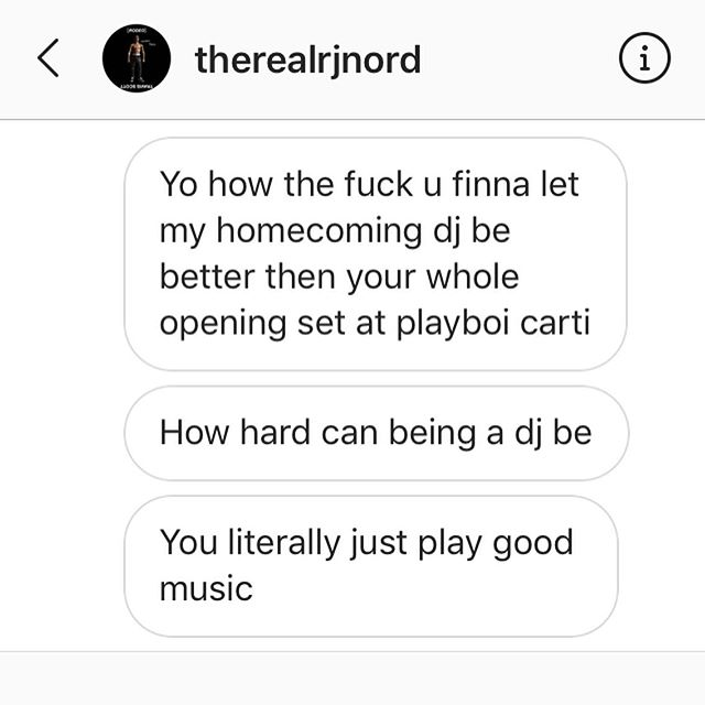 """Its empowering to know you could do something 2months ago that was so impactful. Im glad i- im glad TO inspire. 😌 what i receive is """"you literally play good music and all the songs that werent yours that are played today that young ppl listen to (TRAP) is trash."""" Thank you. Confrontation is hard when you feel entitled, ik. 🤣🤷🏽♀️ #keepinreceipts peruje #whereyamamaat🙄 #testimondrials #tatersgunatate"""