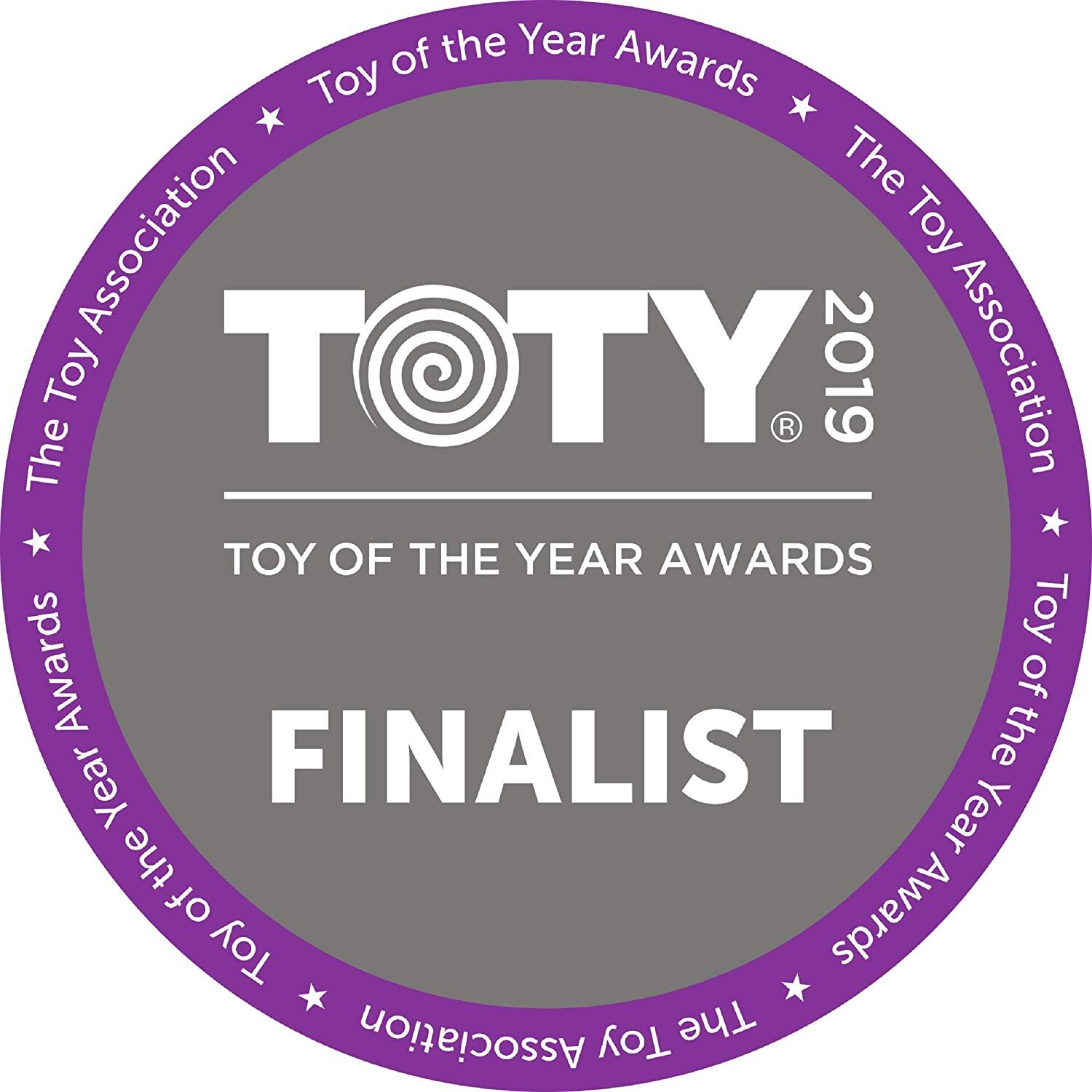 - Toy of the Year 2019 Finalist