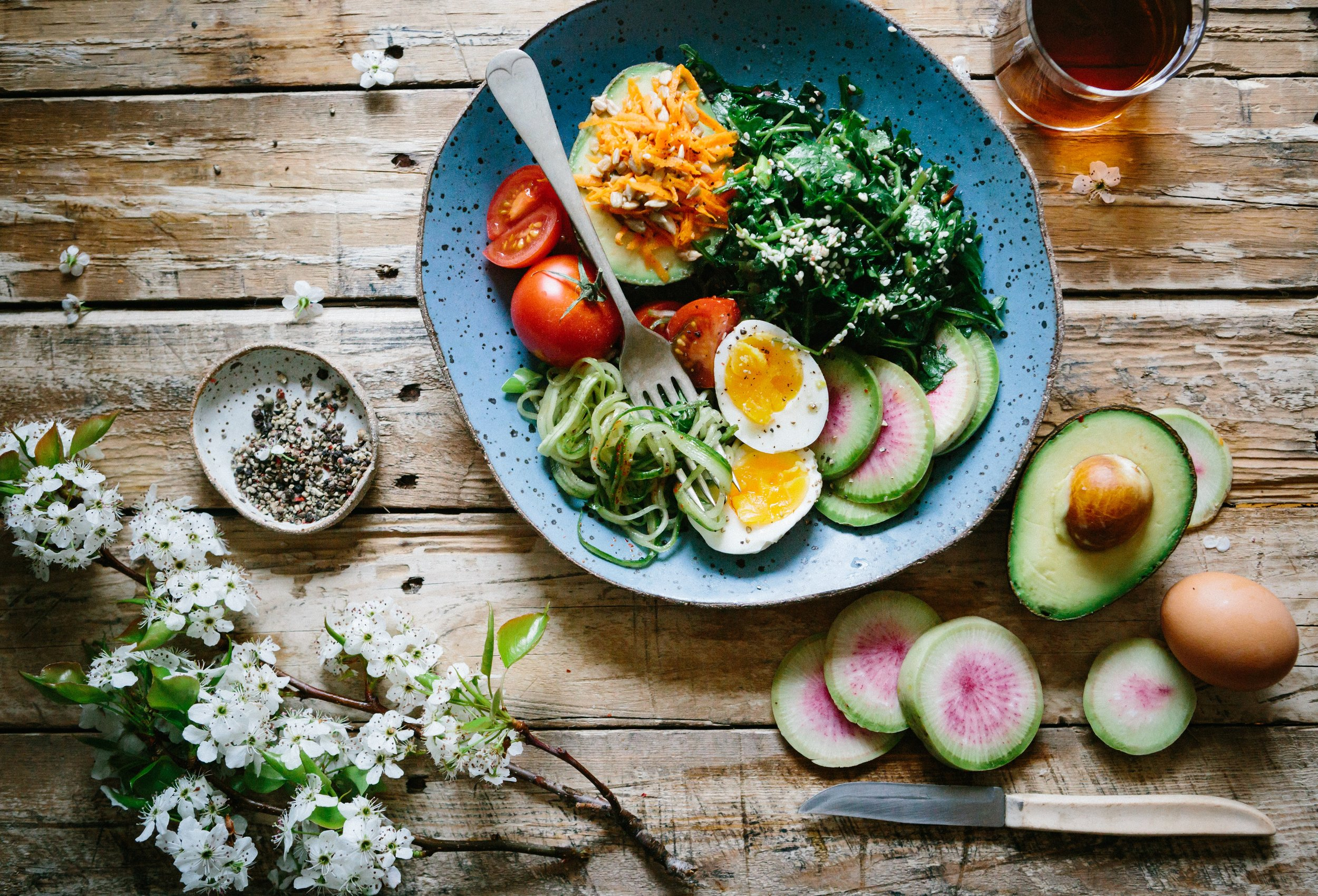 Eat food as close to nature as possible -