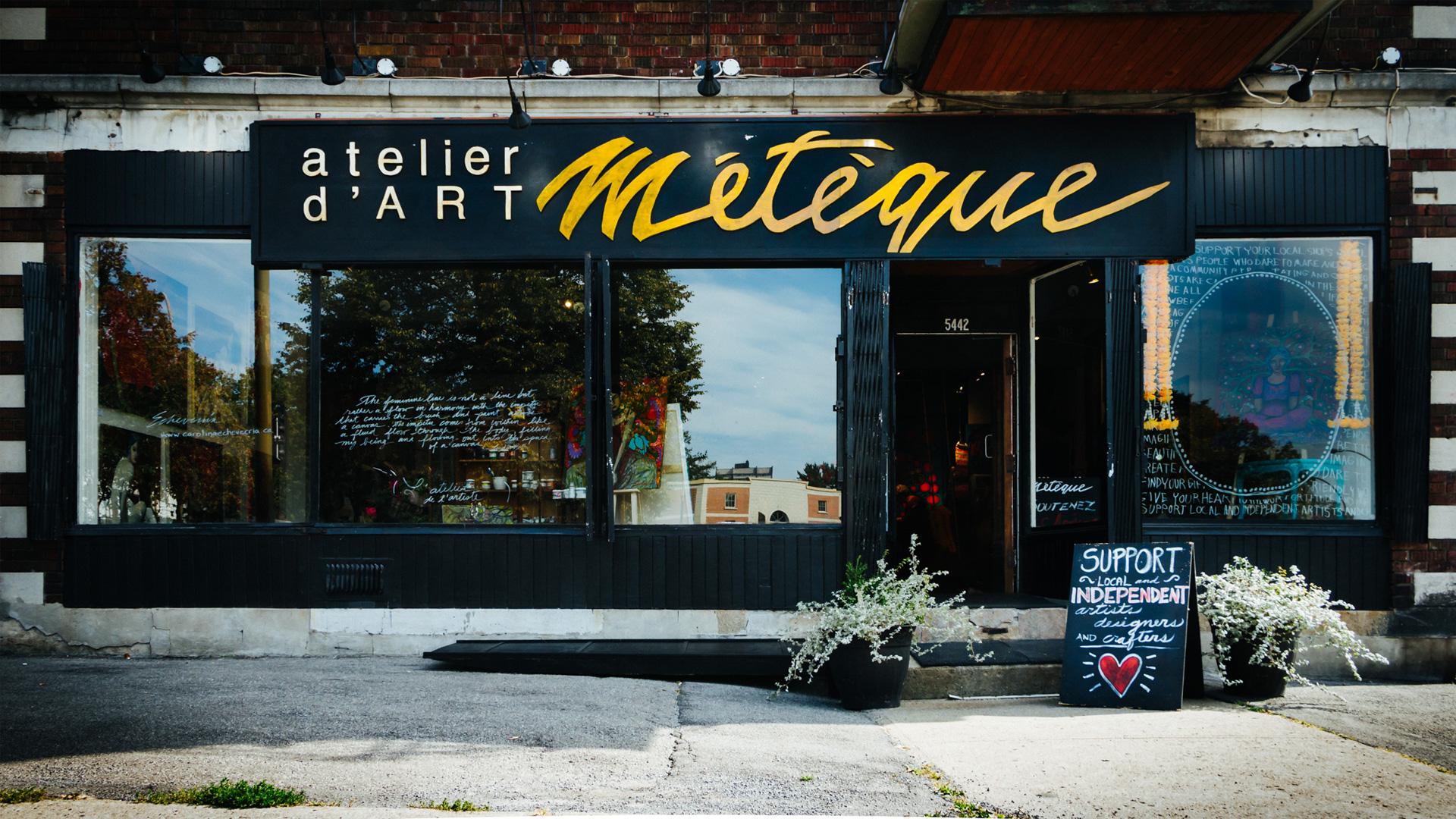 Galerie Métèque:   Native Immigrant, Salon d'Art NDG  5442 Côte Saint Luc