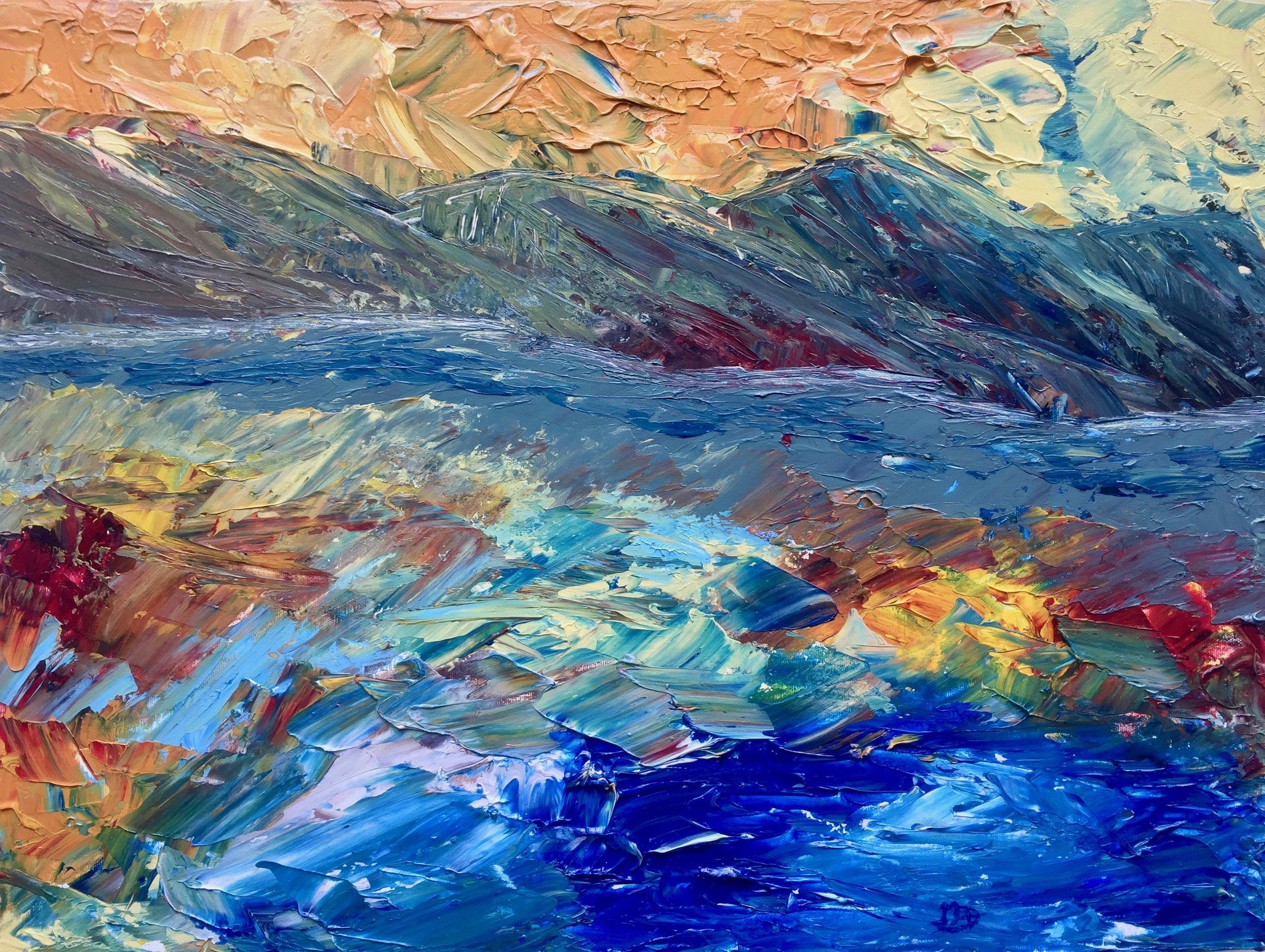 Geoffrey Darwen   t:  Painting/Acrylic  4882 Bessborough