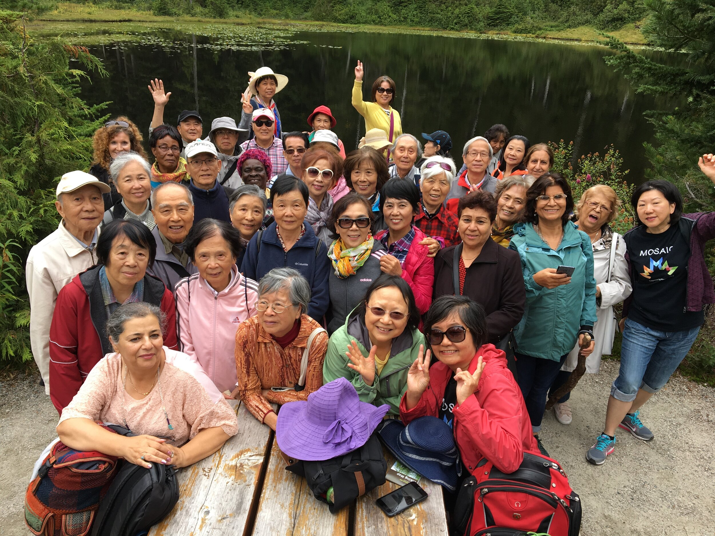 Group Pic by the lake MOSAIC.jpg