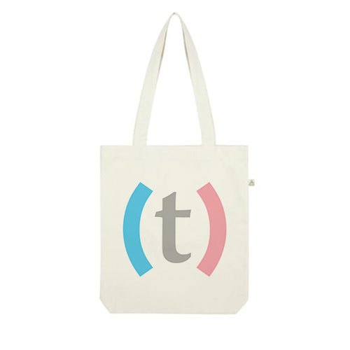 (t)OTE BAG $20 USD - Twenty dollar donation gets you a Transmasculinidad branded tote bag.