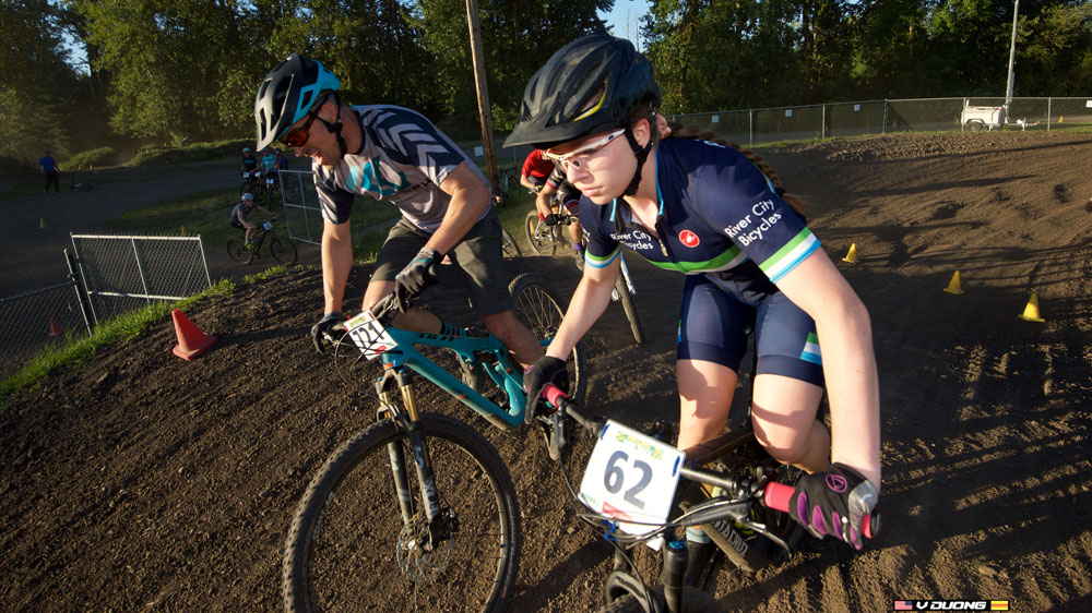 cyclepath rider overtaking RCB women racer on mx.jpg