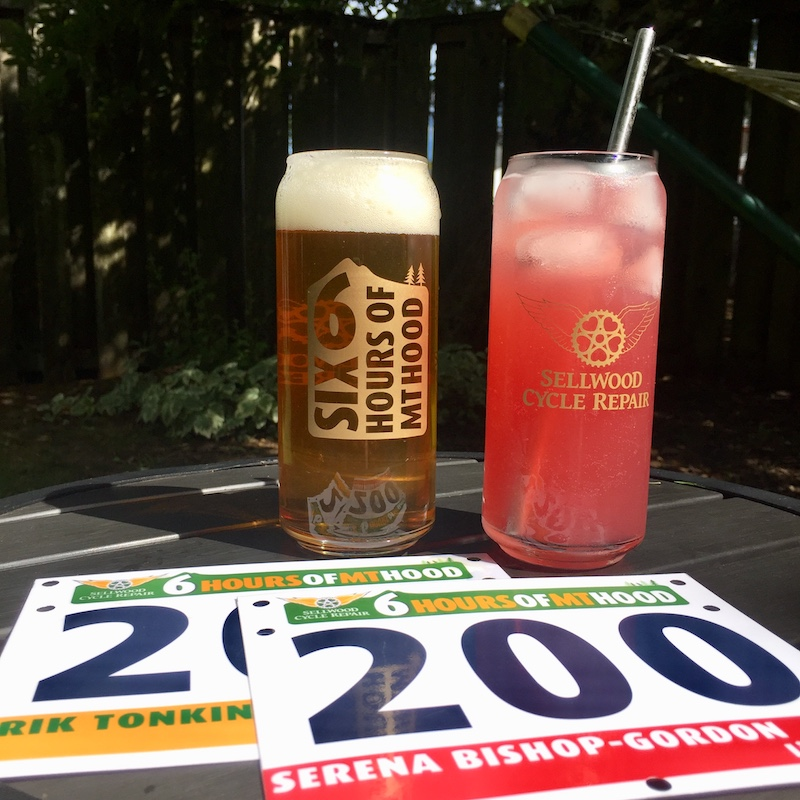 Still time to sign up for the Six Hours and get a personalized race plate and a stylish racer glass!