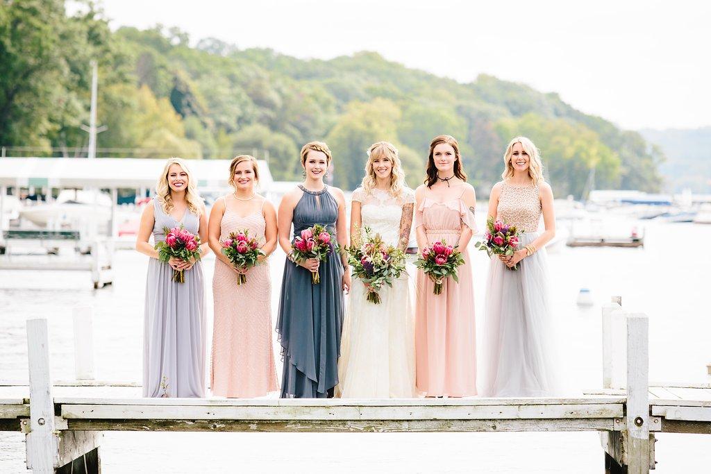Backyard Tented Lakeside Boho Wedding | Williams Bay, WI22.jpg