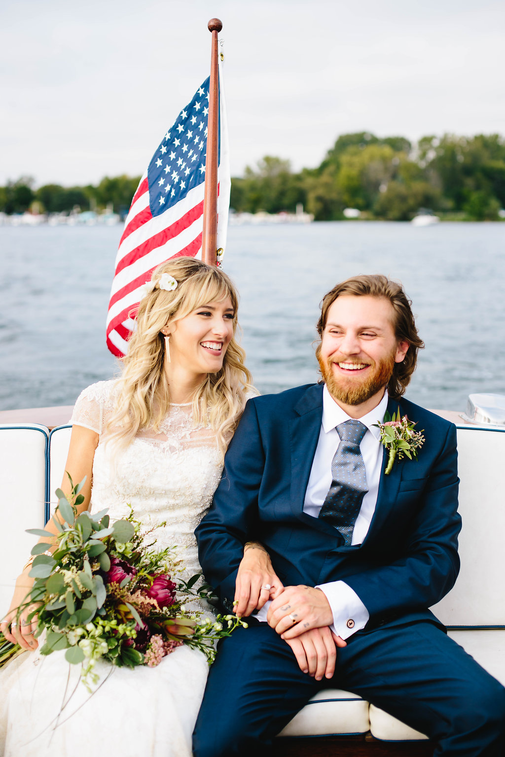 Backyard Tented Lakeside Boho Wedding | Williams Bay, WI37.jpg