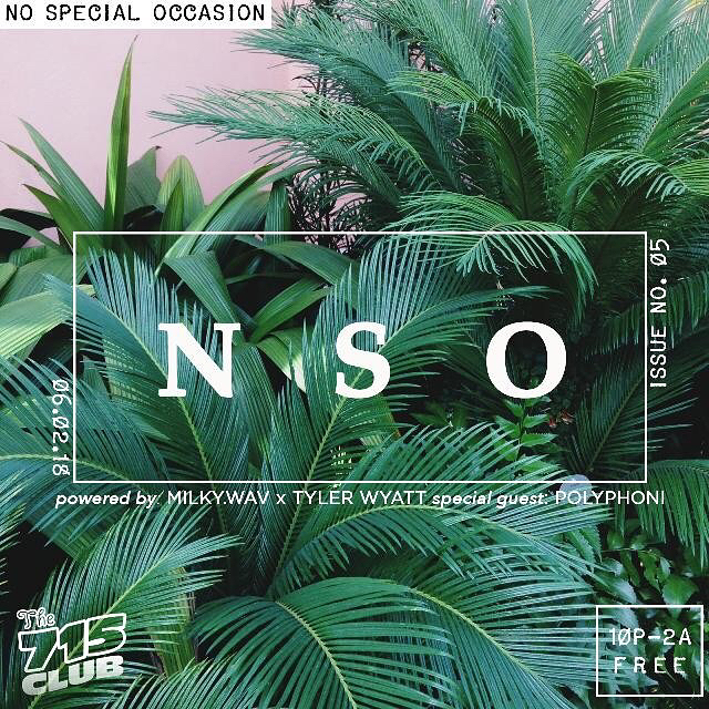 VERY SPECIAL TINGS WITH VERY SPECIAL DUDES 💕🌿🌱💚 @no.special.occasion @milky.wav @giverofgroove #nospecialoccasion @715club #specialtings