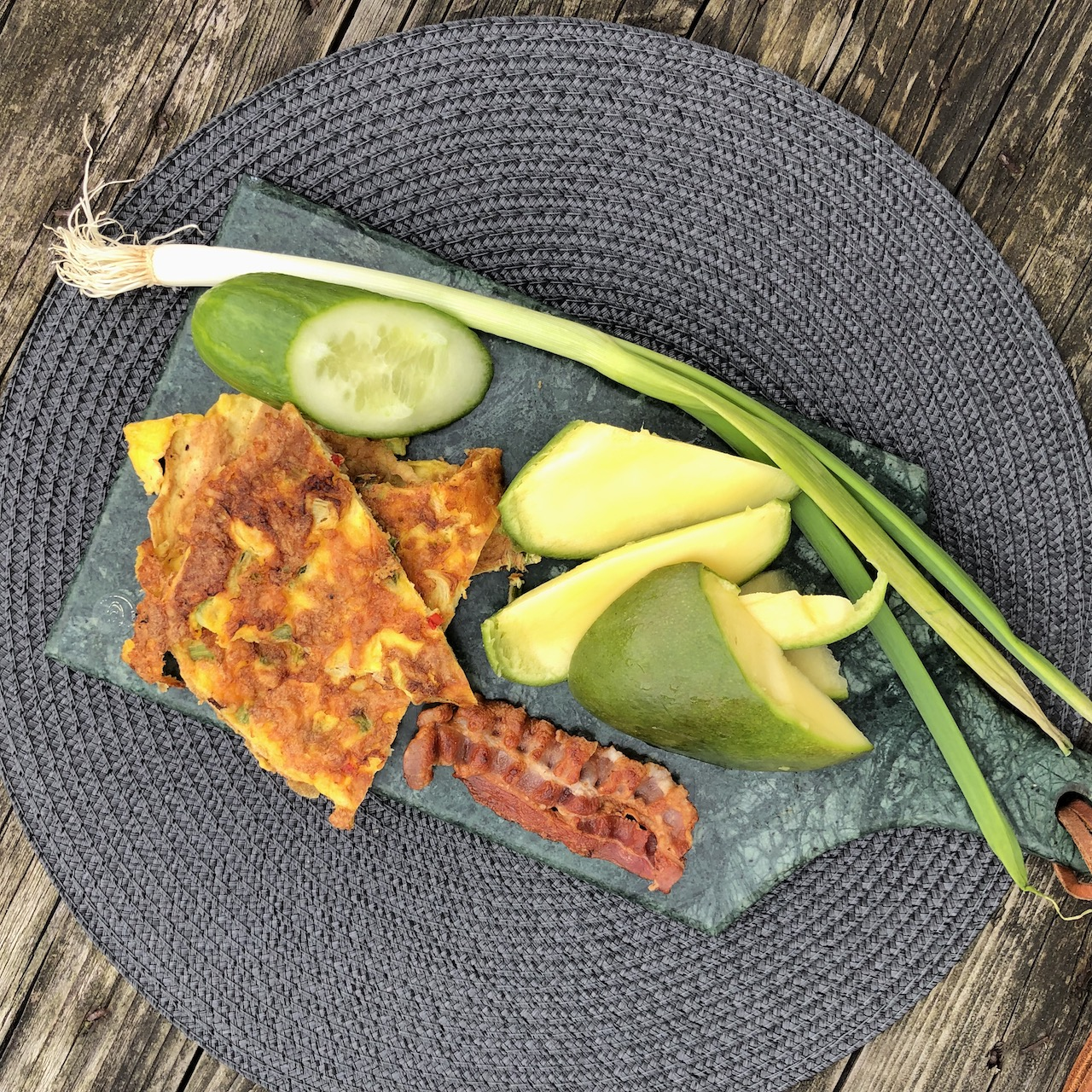 Omelete - Manga - Bacon - Pepino - Cebolinha