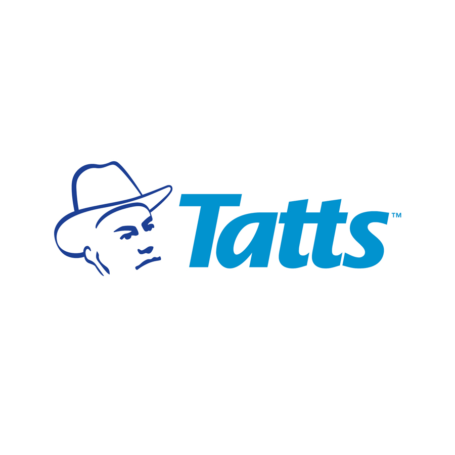 A subsidiary licensee brand within the Tatts Group of companies. Tatts is the official Victorian lottery.
