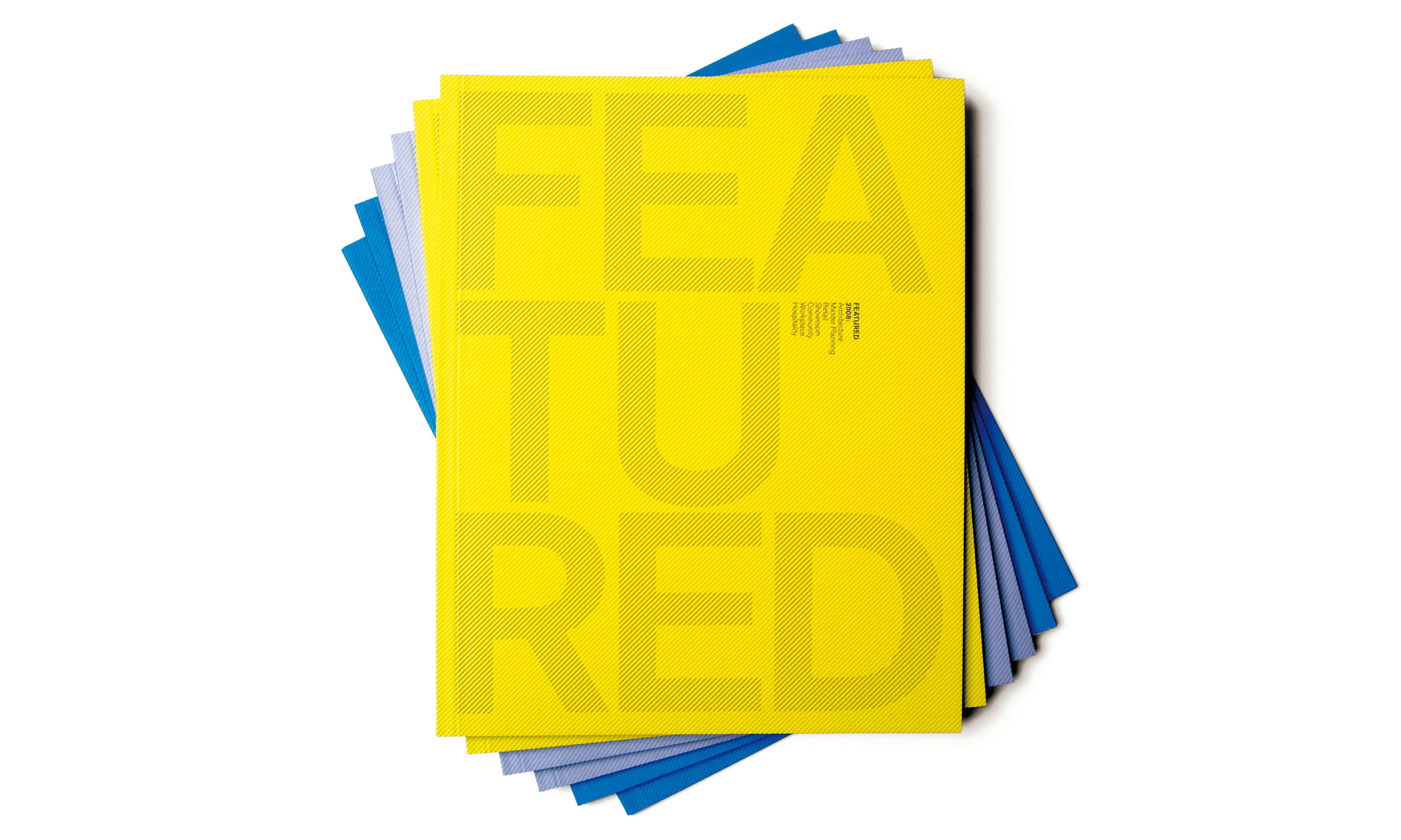 Red Design Group's  FeatuRED  publication.  view case study
