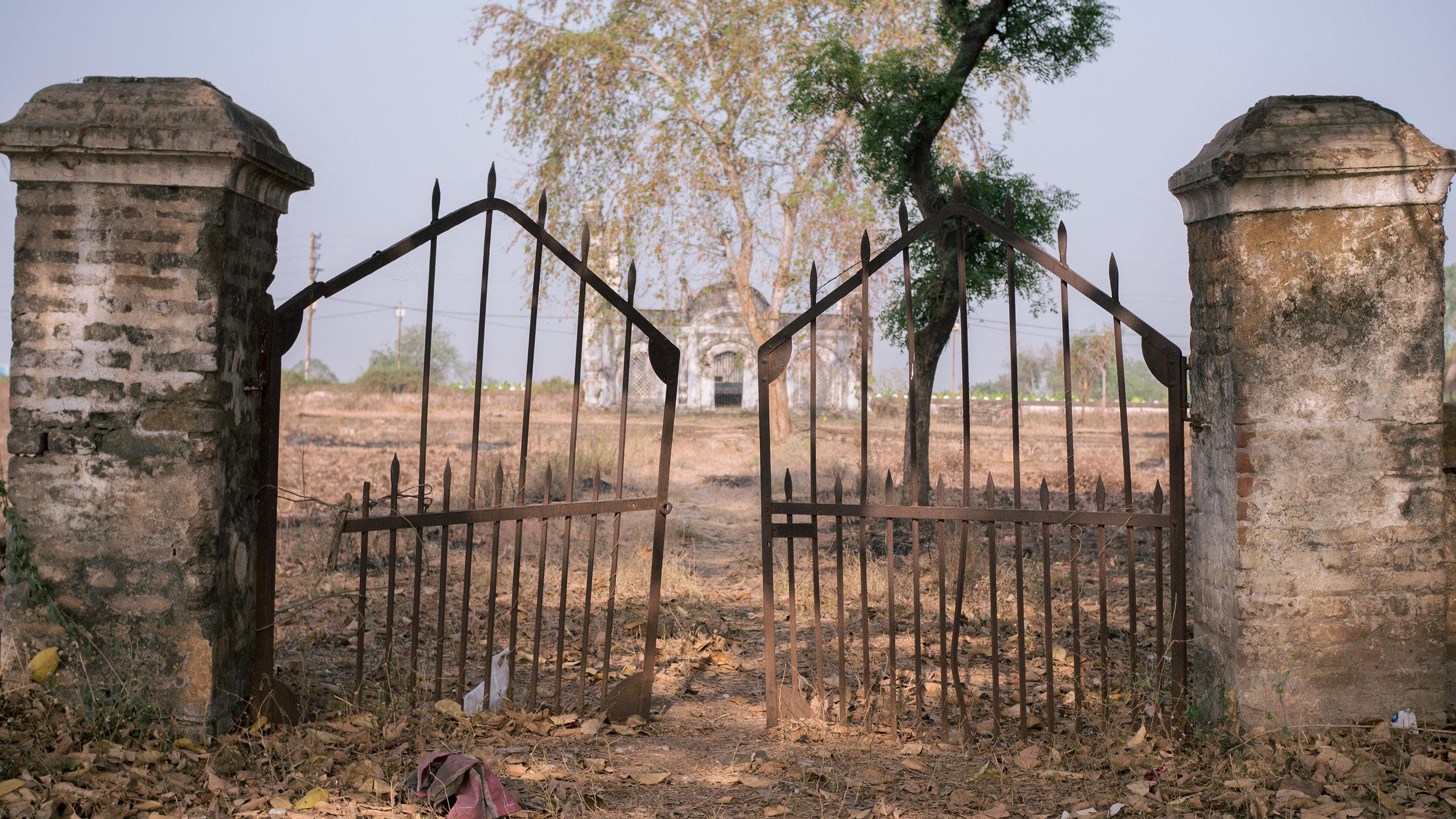The gates of the Nizam Bagh