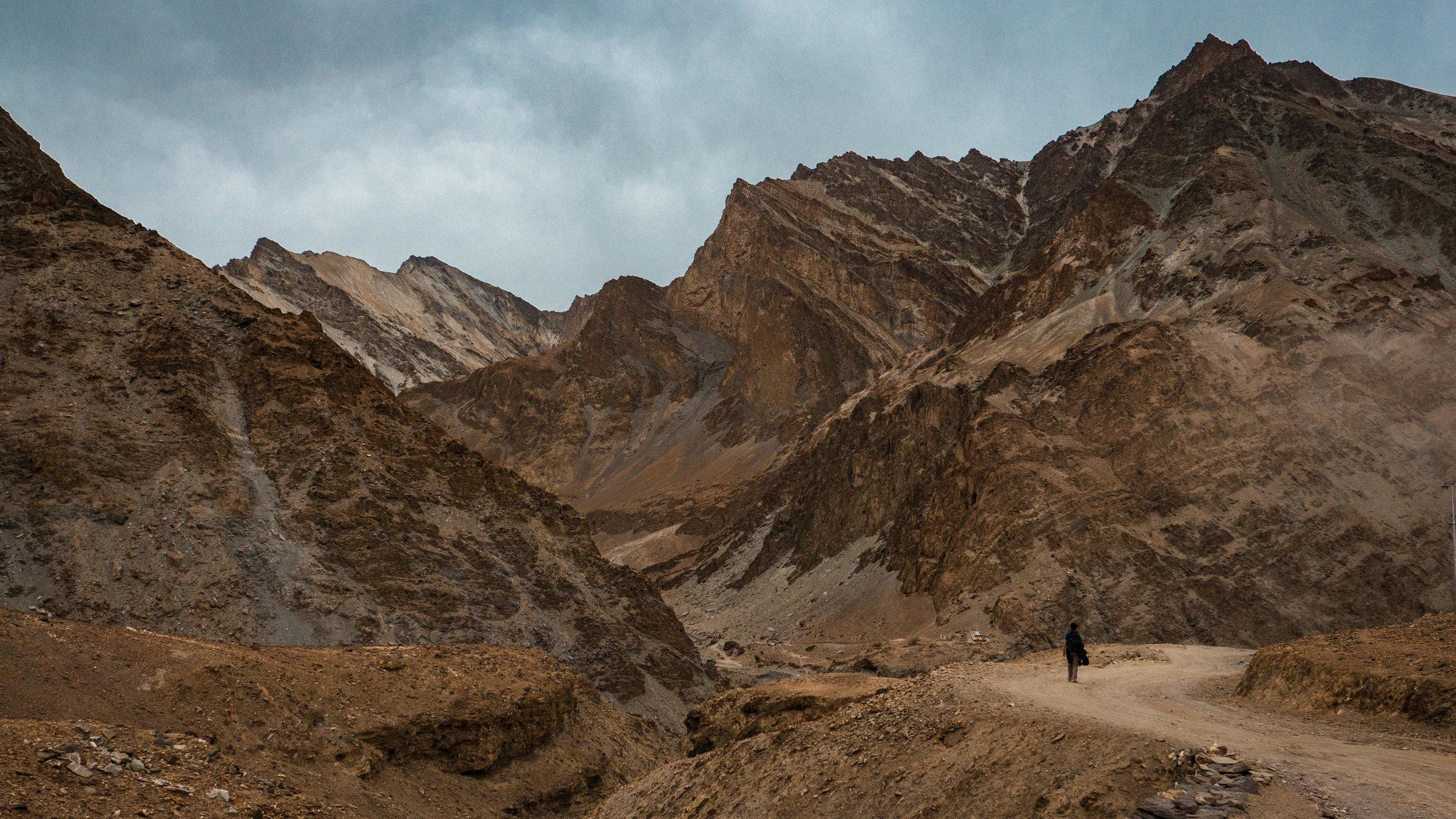 Where the Markha valley meets the Zanskar valley