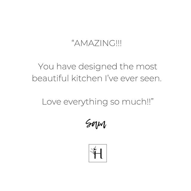 Nice things people say...We love nothing more than helping people fall in love with their new space. ❤️ . . . . #kitchen #kitchendesign #interiors #interiordesign #renovation #homerenovation #dreamhome #dreamkitchen #newbuild #homedesign #renovating