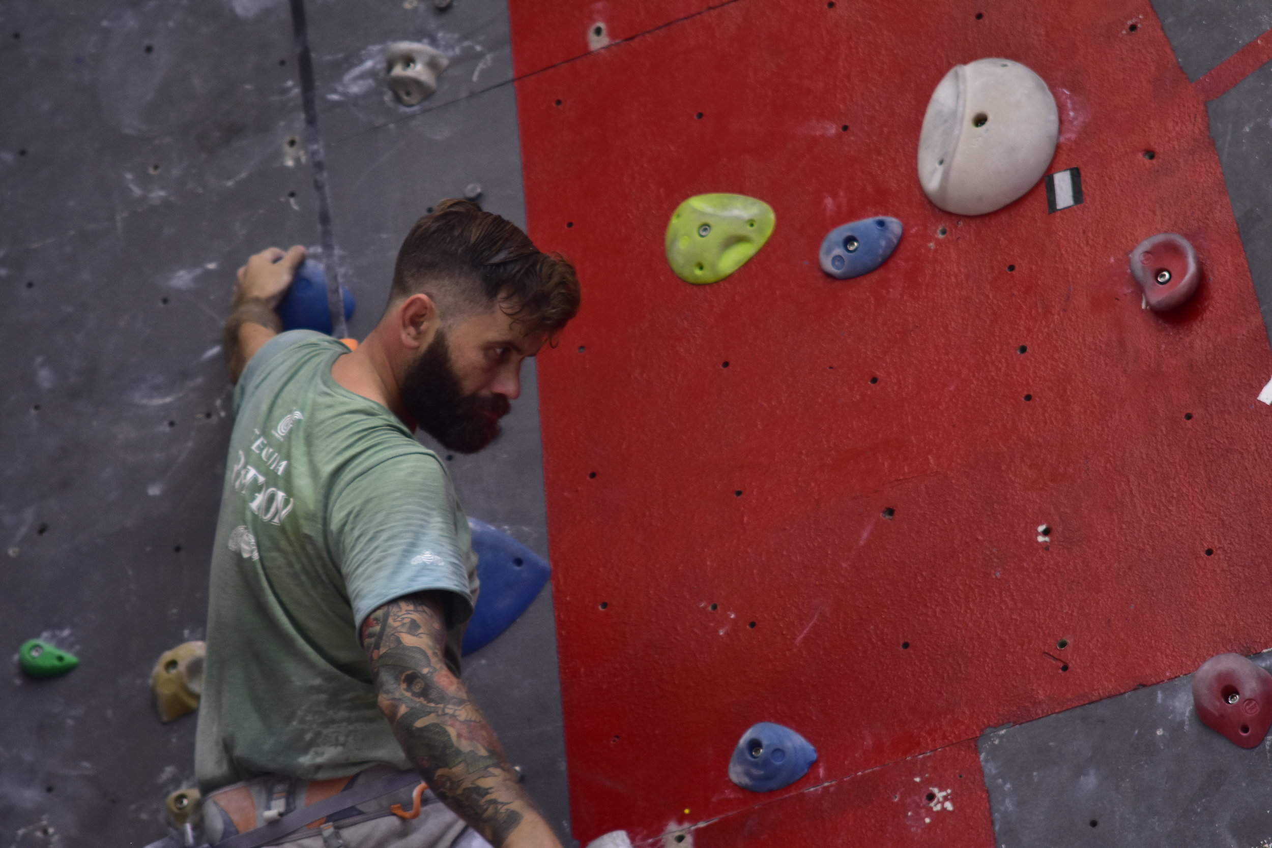 Climbing is better for more than your shoulders, you say?