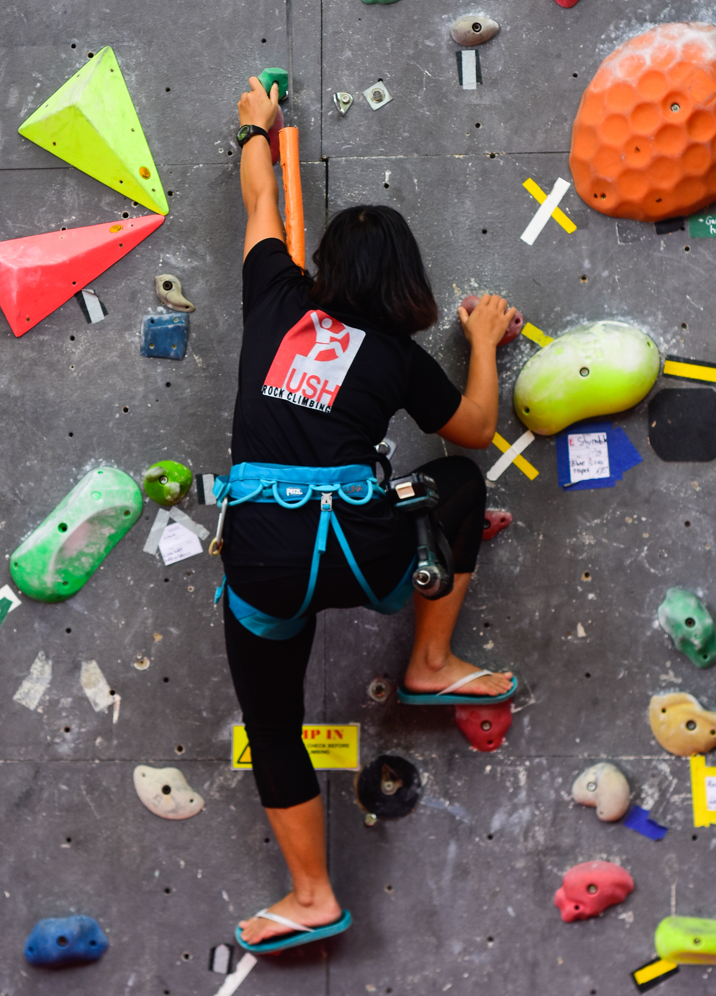 No training plan? Vy or any of our instructors at Push Climbing can help you build one.