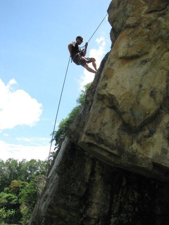 Paul Massad, Push Climbing founder, in search of a higher vision.