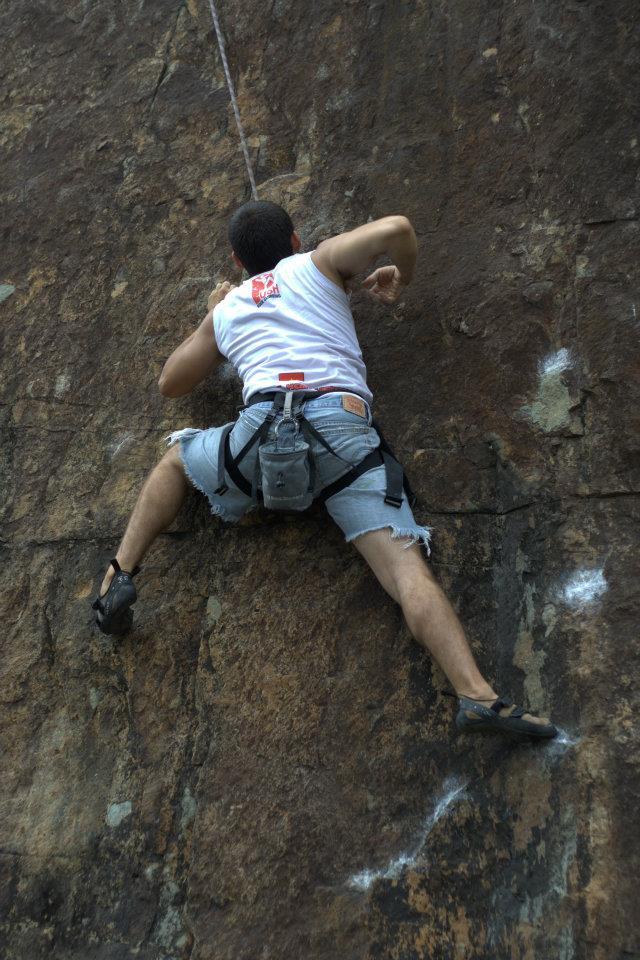 Climbing is both physical and spiritual, Push Climbing founder Paul Massad opines