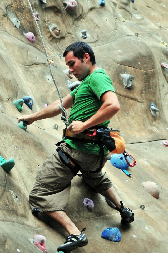 Equipment is good, but it's not everything in climbing.