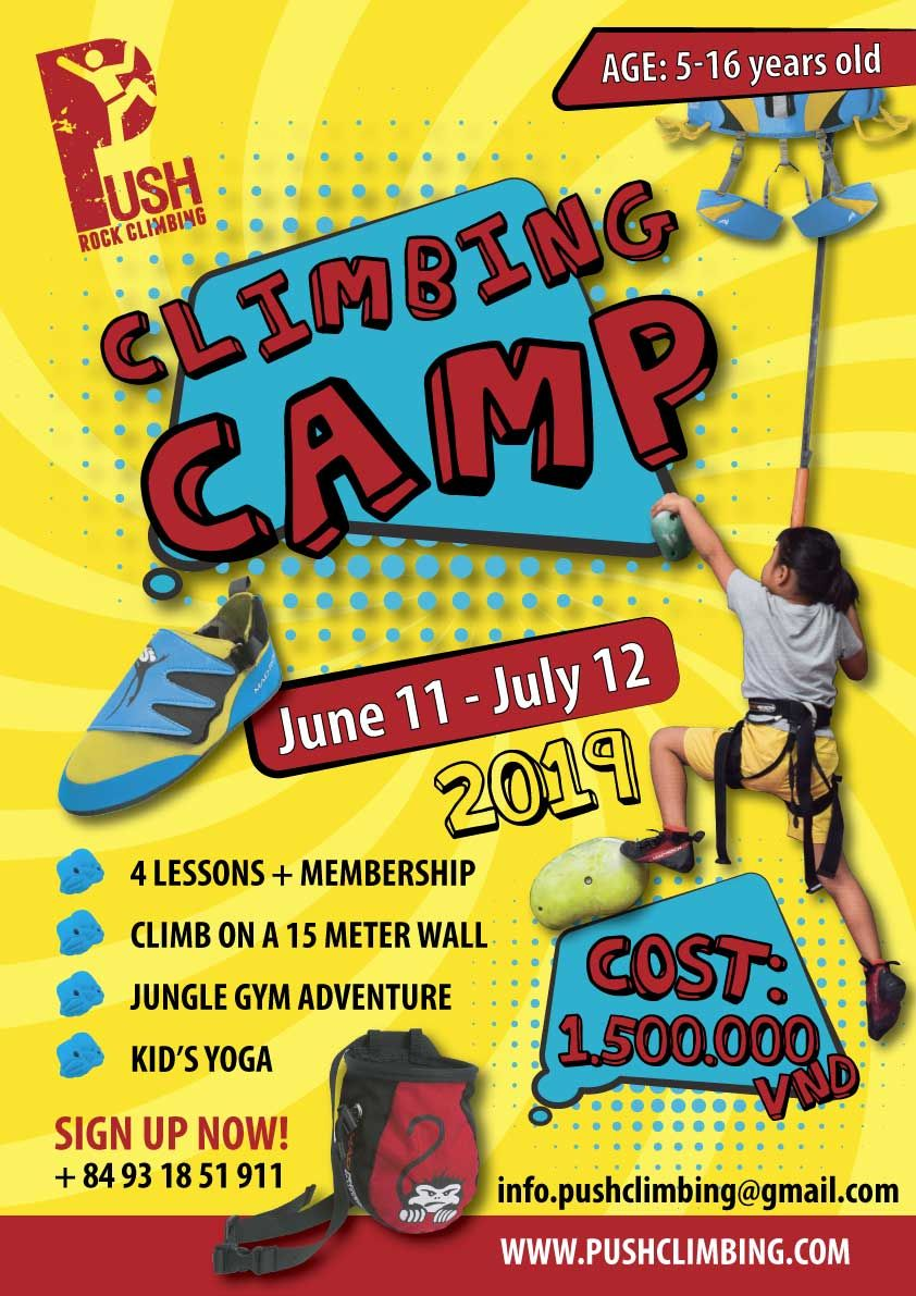 Climb Camp - Click here to learn more