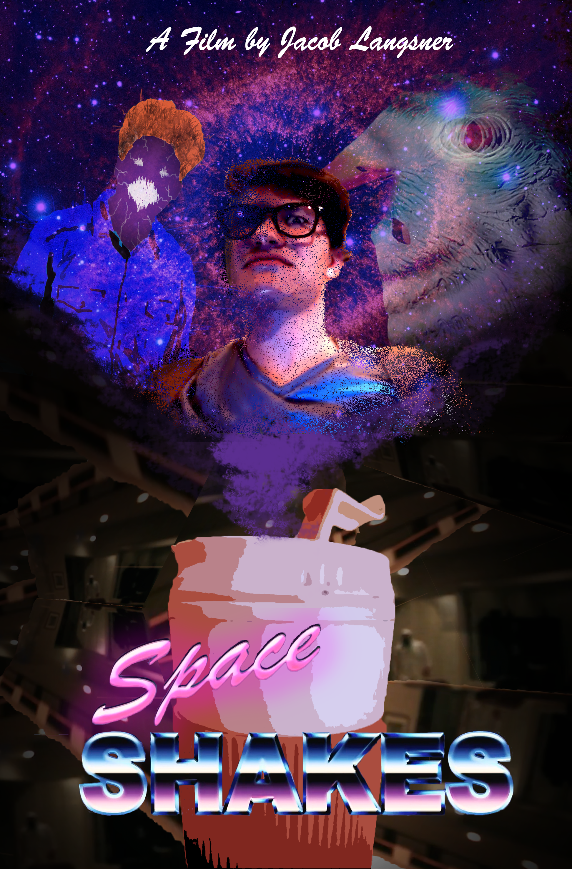 Space Shakes - (comedy)Take a sip. Then, take flight.