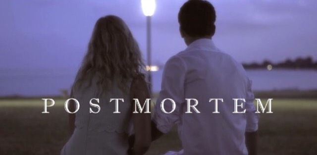 Postmortem - (dark romantic comedy)What would you do with your last two minutes?