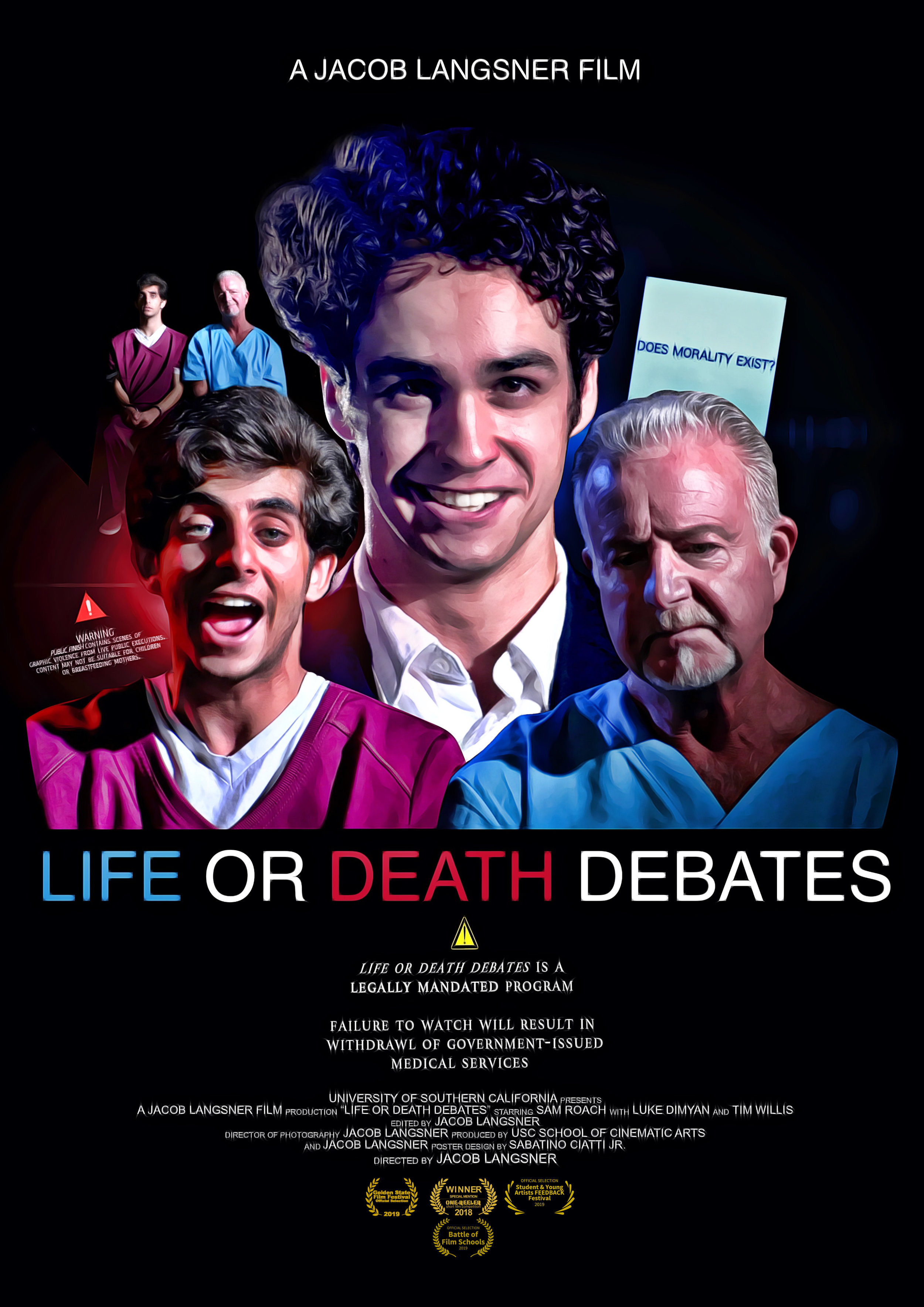 Life or Death Debates - (dystopian drama)Let's give out a second chance.