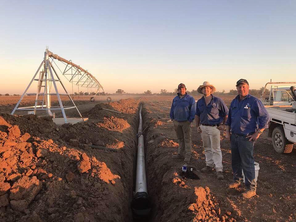 NEW 66 HA CENTRE PIVOT IRRIGATION SYSTEM