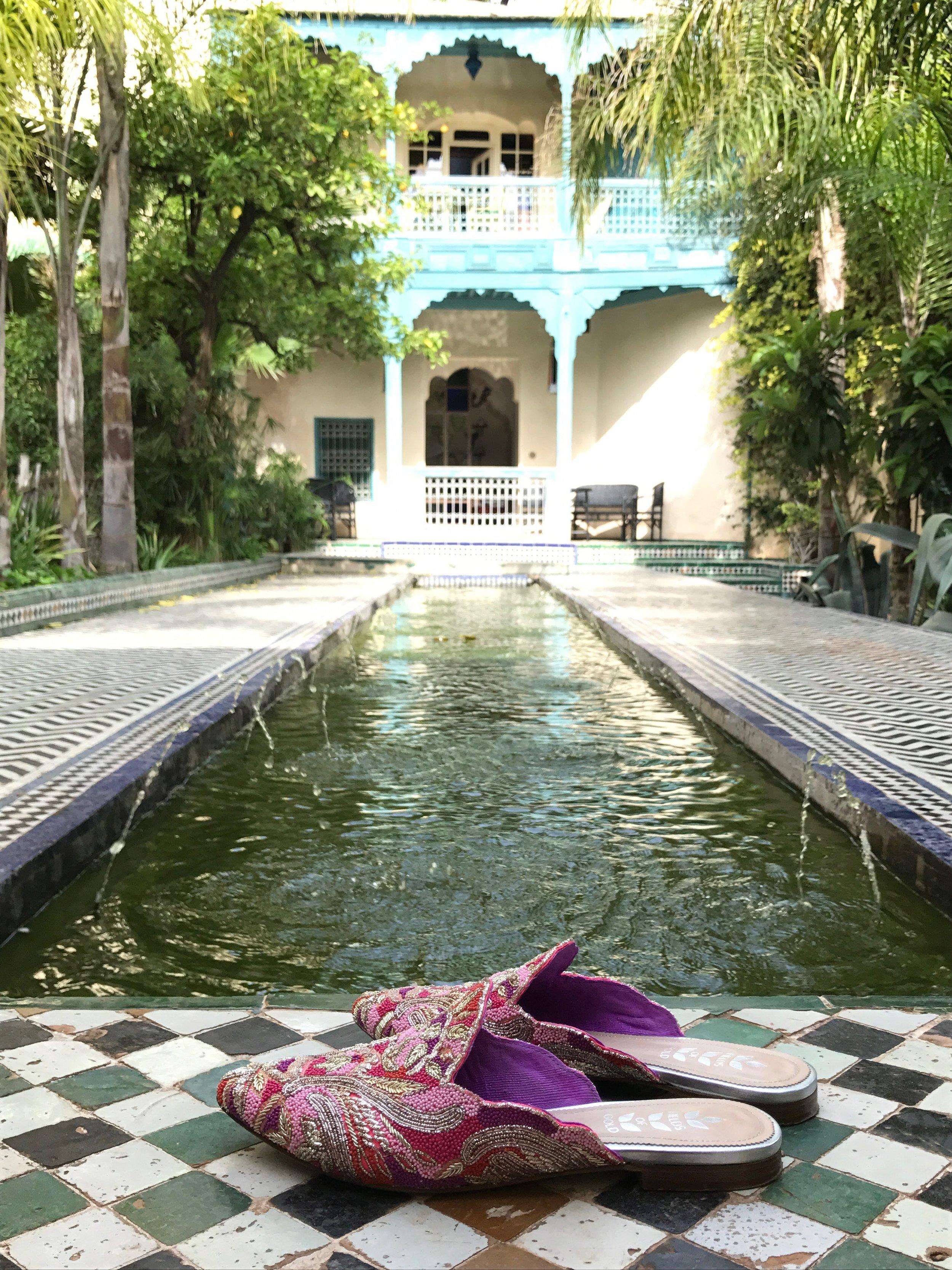 Mosaics and secret gardens....