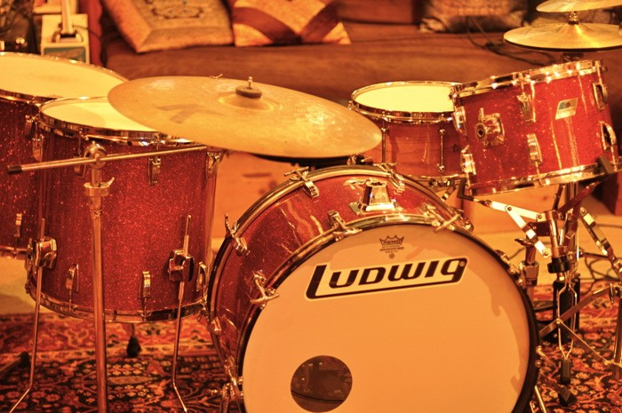 Ludwig Red Sparkle (vintage, 1976)
