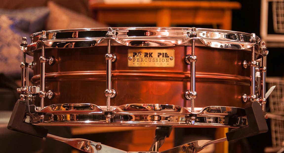 Pork Pie 5 x 14 Brass Snare