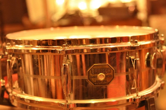 Gretsch 5 x 14 Classic 4160 Chrome-Over-Brass