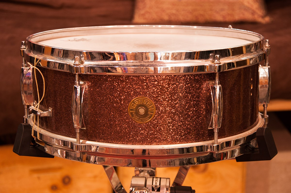 Gretsch 5 x 14 Bronze Sparkle Wood