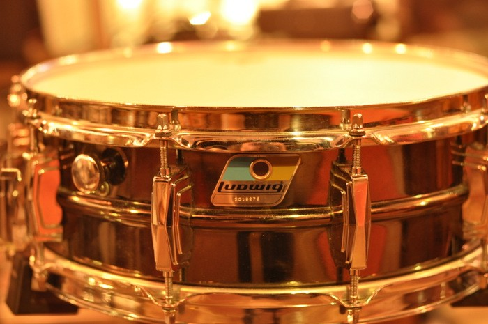 Ludwig 5 x 14 Black Beauty Vintage