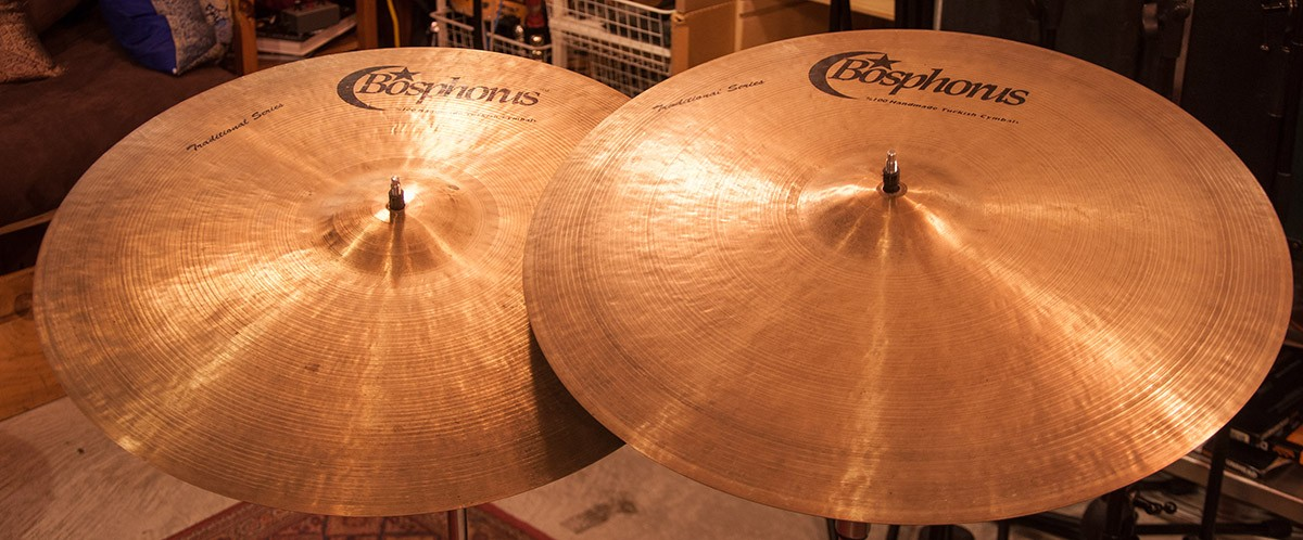 22″ Turk Series Traditional Ride Cymbal (x2)