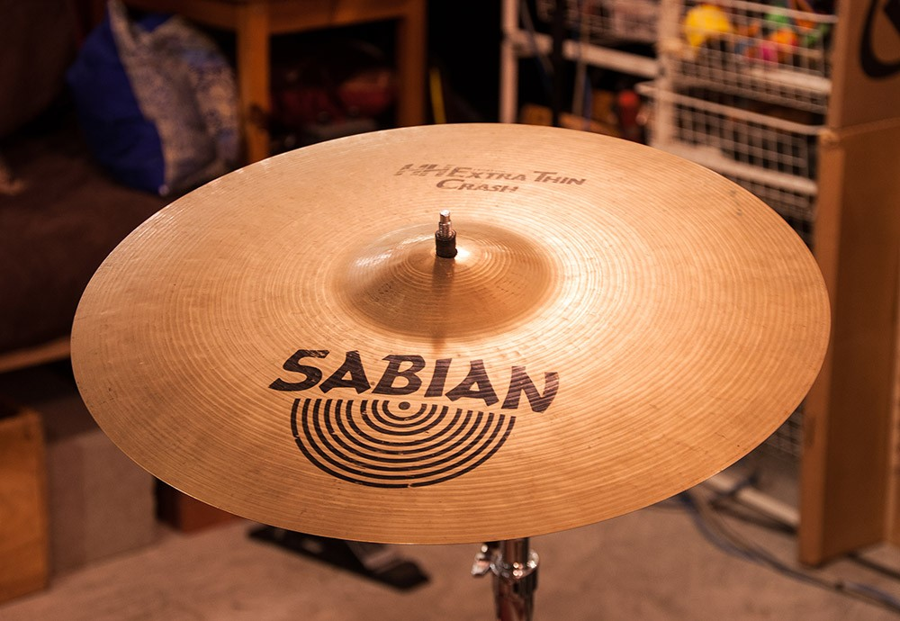 Sabian 17″ Extra Thin Crash