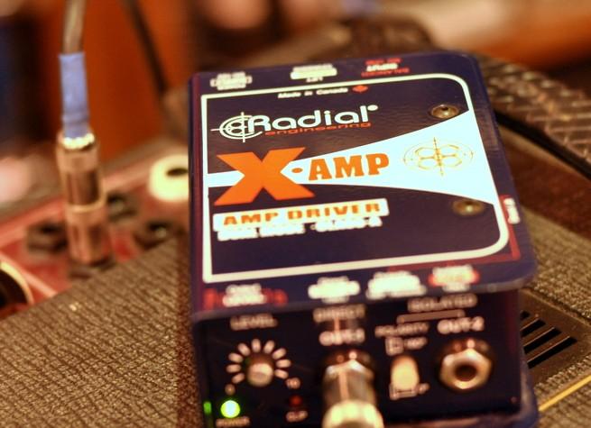 Radial XAmp Reamp Box