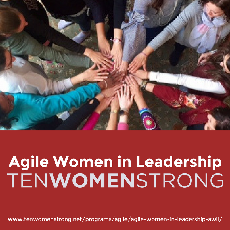 I champion TENWOMENSTRONG - TENWOMENSTRONG is important because I think it's high time that feminine energy takes its place in leadership in the Agile world (and in THE world). I am dedicating my attention in 2019 to championing #WomeninAgile because I see so many smart, talented, articulate women in the Agile community and I don't see as many leading. The world is missing out...and needs us. Ladies, please join us for TENWOMENSTRONG programs in 2019. Deborah Preuss and I brought them into the Agile world just for you.
