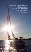 Sailing to the Sun - © 2013 John Adkins, all rights reserved. Used with permission.Yacht racing on Kerr Lake, North Carolina