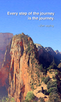Trail to Angel's Landing - © 2015 Kailey Adkins, all rights reserved. Used with permission.Trail to Angel's Landing. Zion National Park, Utah
