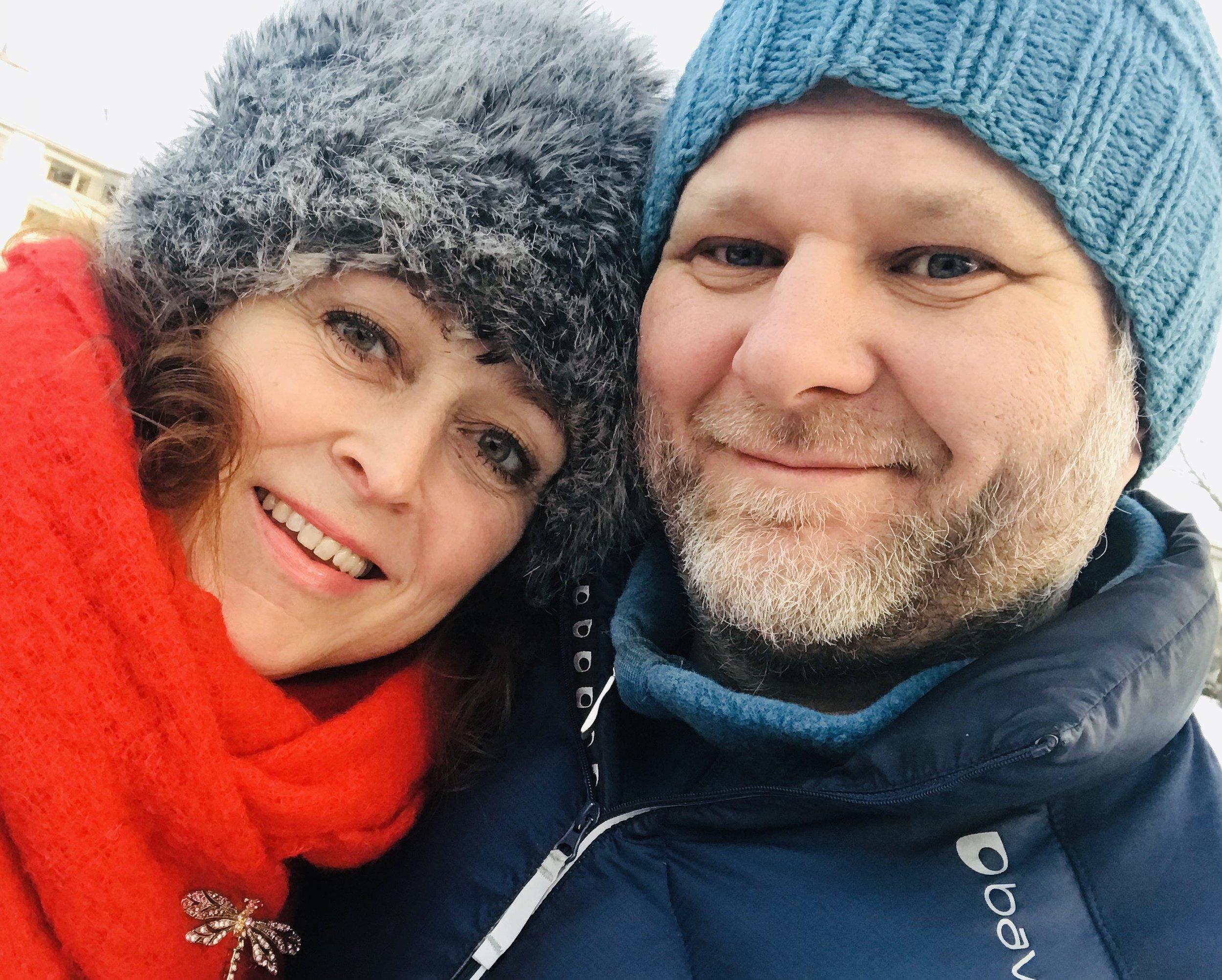 """Camilla Granlien og Nils Røine leder kurset """"Kalottsprell"""" for de aller minste."""
