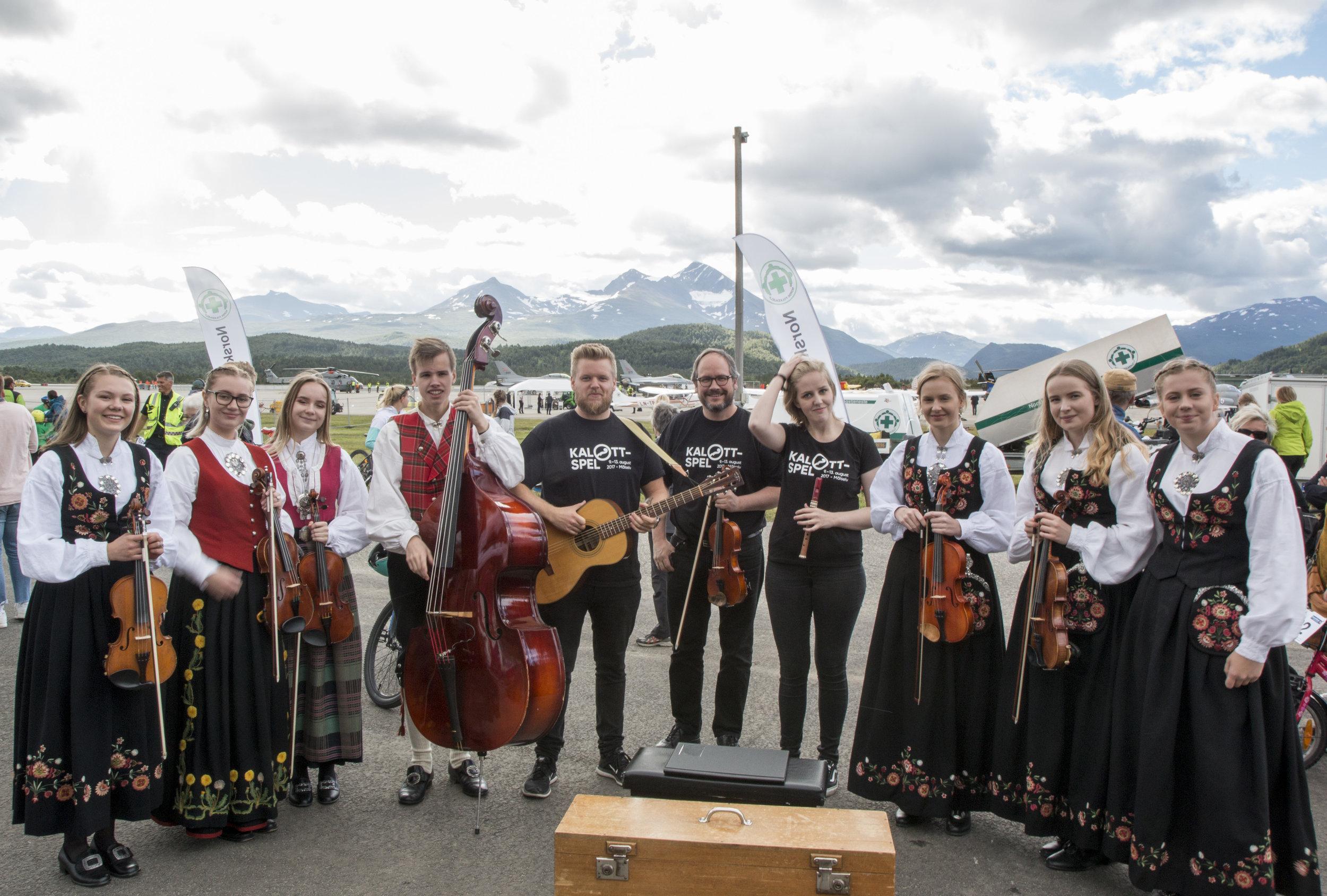 FolkBand Spelmannslag. Foto: Odd-Inge Larsen