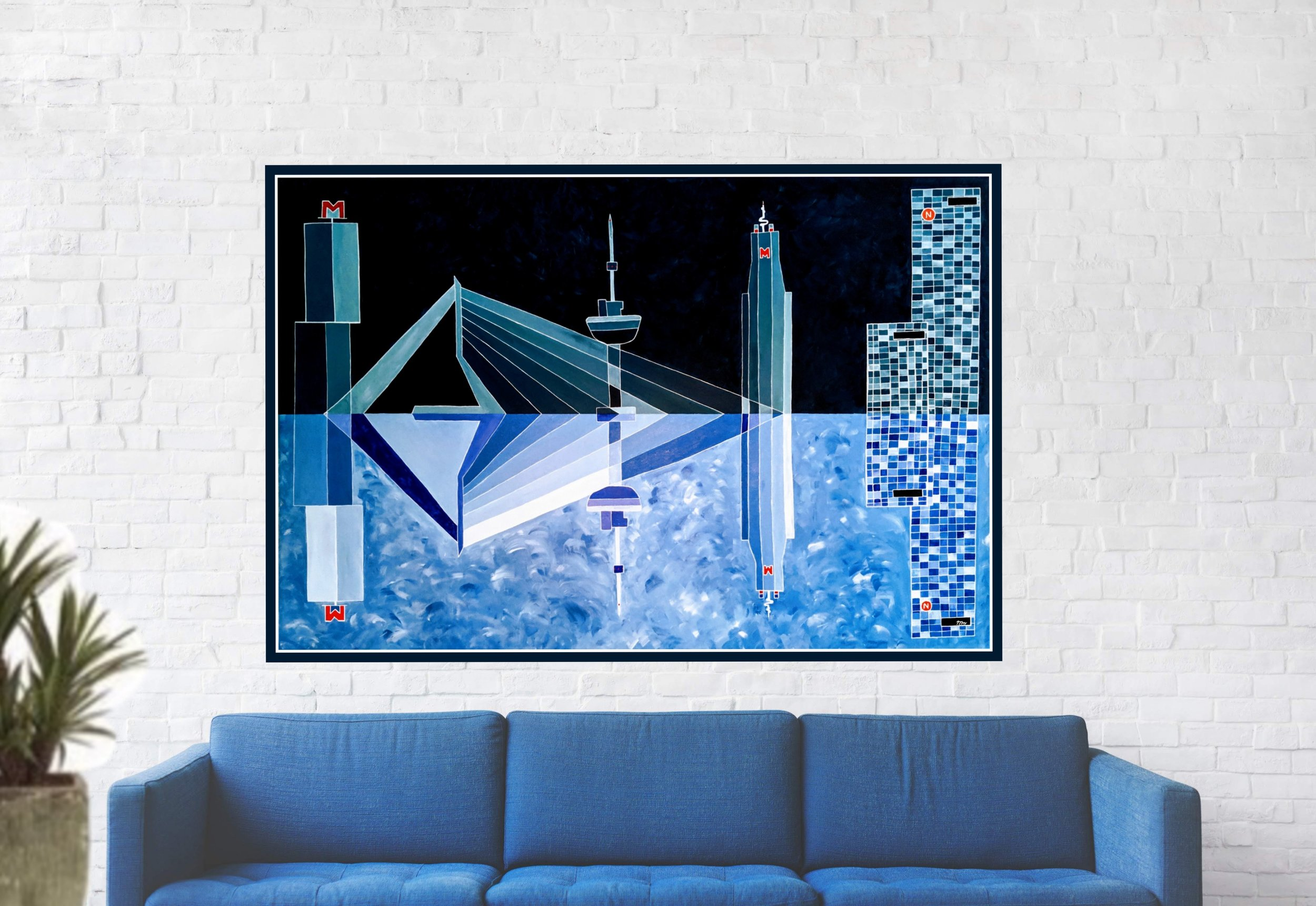 Art studio Jet - Unieke schilderijen van wereldsteden. Bekijk de huidige collecties of neem contact op voor een schilderij op maat.