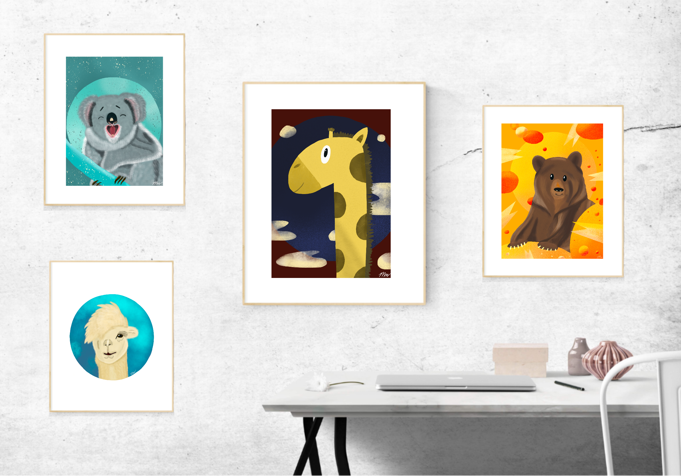 Animal collection art prints.png