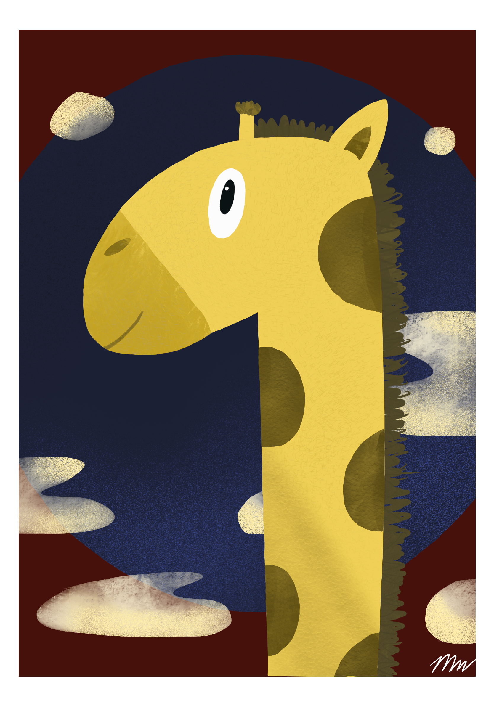 Gigi Giraffe art print small.png