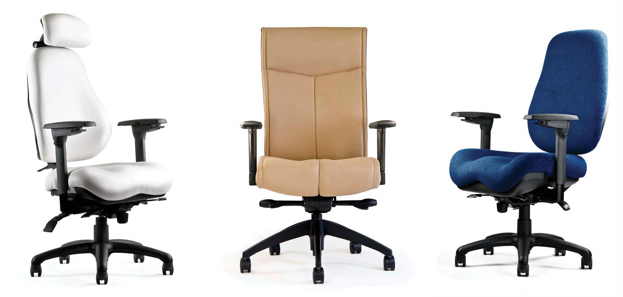 Neutral Posture offers seating systems with pressure-reducing contours and custom-fitting adjustments.