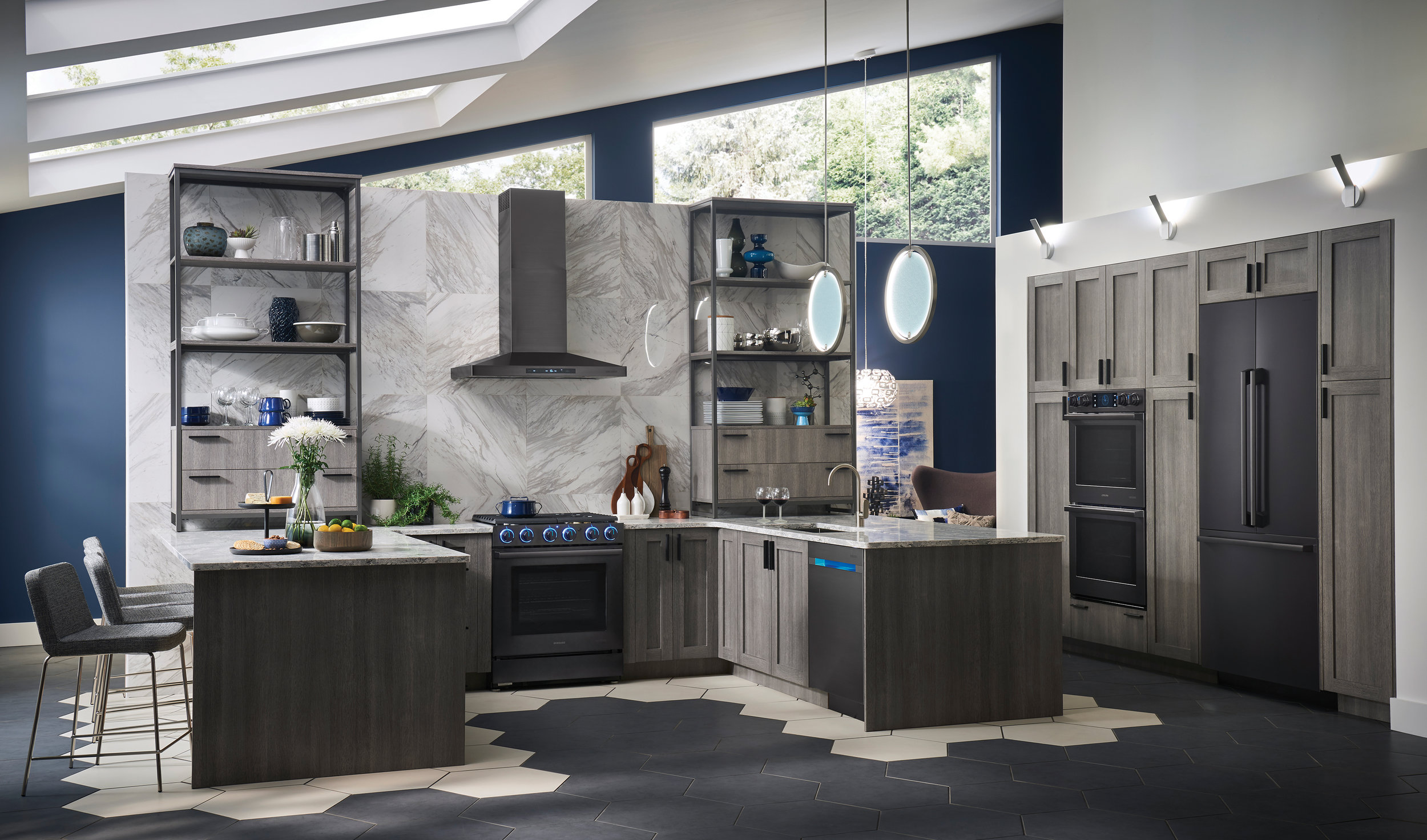 The Chef Collection by Samsung combines technology and efficiency throughout all your home's appliances.  Image courtesy of Samsung